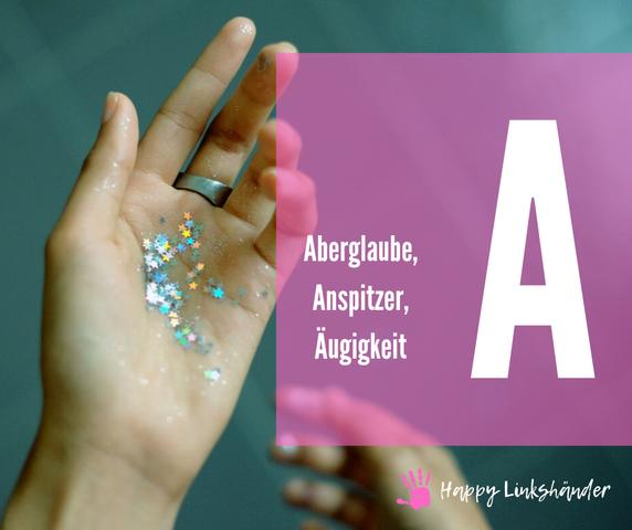 Linkshänder ABC Lexikon Test Rückschulung Schreiben lernen