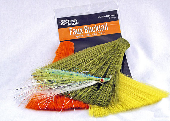 Flymen Fish Skull Faux Bucktail