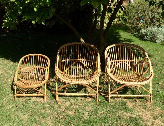 JOLI, fauteuil rotin, fauteuil enfant, fauteuil coquille, fauteuil vintage