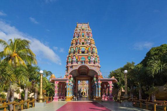 Port Louis Tempel - Hauptstadt von Mauritius Indischer Ozean