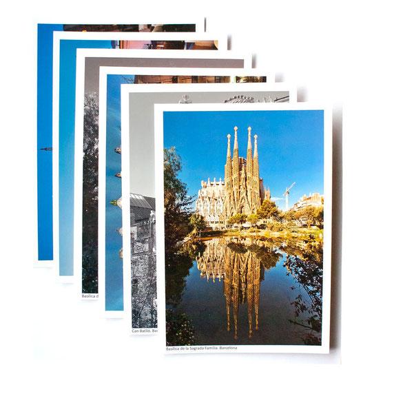 Postales turísticas de Barcelona ahora disponibles en línea