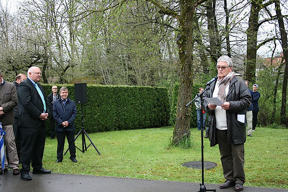 Immo Opfermann – Rede in Erzingen am 3. Mai 2015 (Foto: U. Hentsch)
