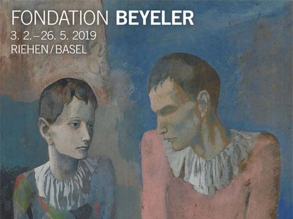 Ausschnitt aus dem Ausstellungsplakat der Fondation Beyeler