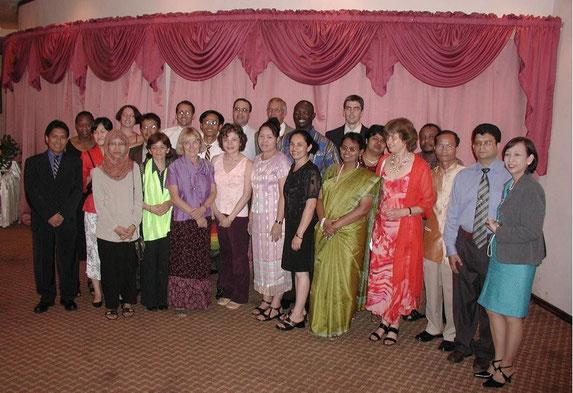Srilanka, Dec 2004_Tiệc chiêu đãi của SIDA, 12-2004