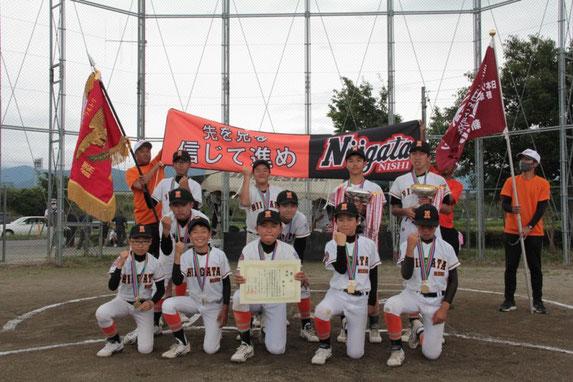 優勝:新潟リーグ