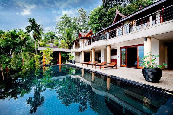 Phuket/Surin: 5-SZ-Poolvilla im Bali-Thaistyle (zur Zeit nicht zu vermieten, da sie sich im Verkauf befindet)