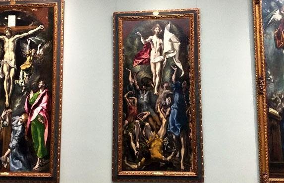 Картины Эль Греко в музее Прадо