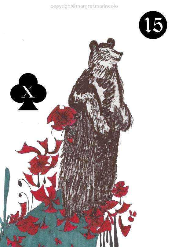der-bär-bear-15-im-lenormand