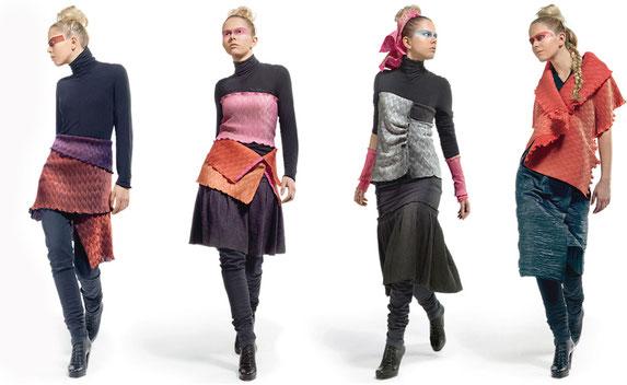 créattif-à-porter Hae Sa Mode, ein Tuch zahlreiche Möglichkeizen