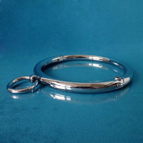 metal collar silver collar metalen collar metalen halsband lockable metal collar bdsm collar metalen bdsm collar zilverkleurige collar