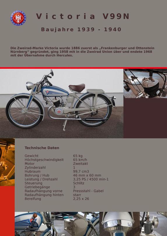 Victoria V99N Motorrad