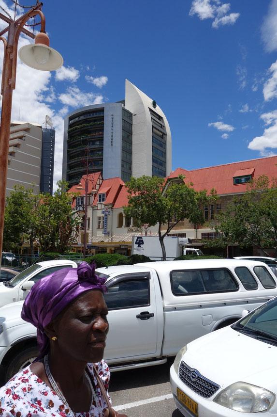 Windhoek, Independence Avenue, Zentrum