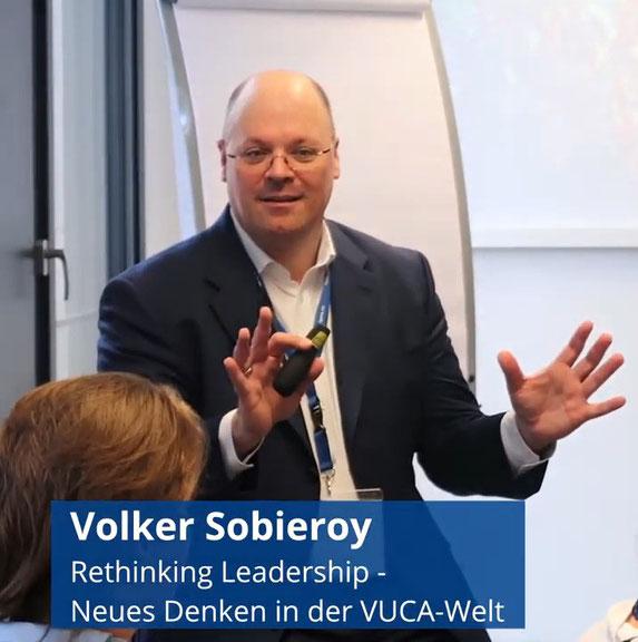 Referent und Trainer Volker Sobieroy