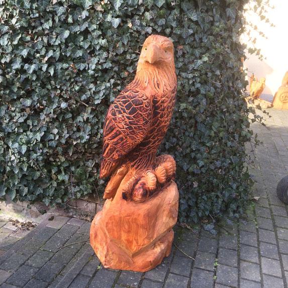 Adler aus Lärche 120cm