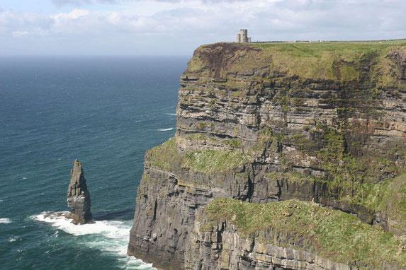 Die eindrucksvollen Klippen des Cliffs of Moher