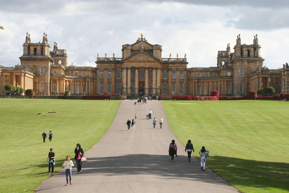 Blenheim Palace Ansicht vom Park