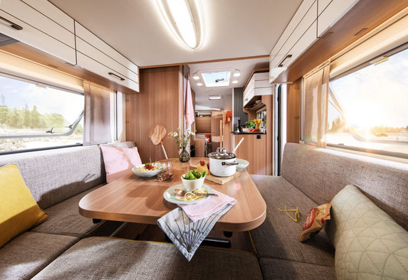 Innenfoto LMC Style Lift Wohnwagen