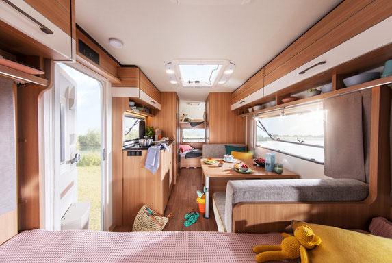 Innenfoto LMC Style Wohnwagen