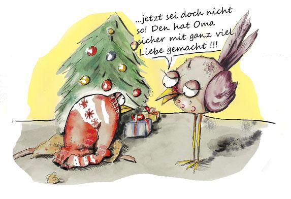 ottbyrds, weihnachtsgeschenke, unpassende geschenke, weihnachten, selbstgemachtes