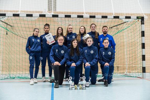 Die Turniersiegerinnen vom Rahlstedter SC