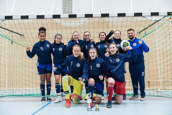 Das Siegerteam vom Rahlstedter SC