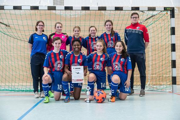 Die Mädchen vom VFL Pinneberg