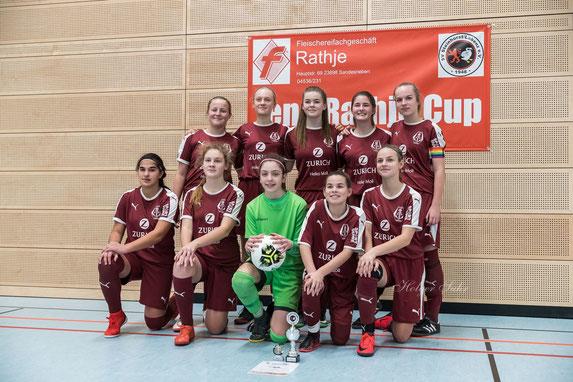 Das drittplazierte Team des FC Anker Wismar