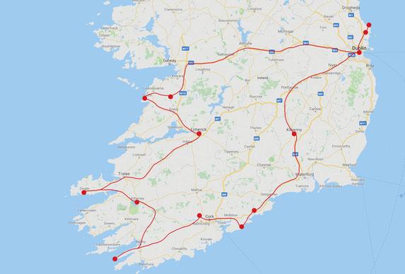 Rundreise Irland