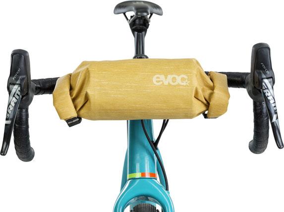 Evoc, Bikepacking, handlebar, bike tour, gravelbike