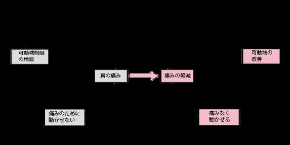 五十肩における痛みの循環