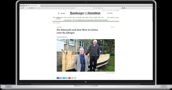 Artikel im Hamburger Abendblatt