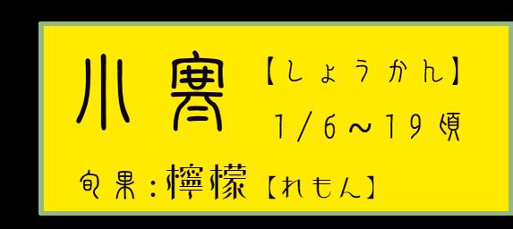 小寒【しょうかん】アイコン 旬果:檸檬