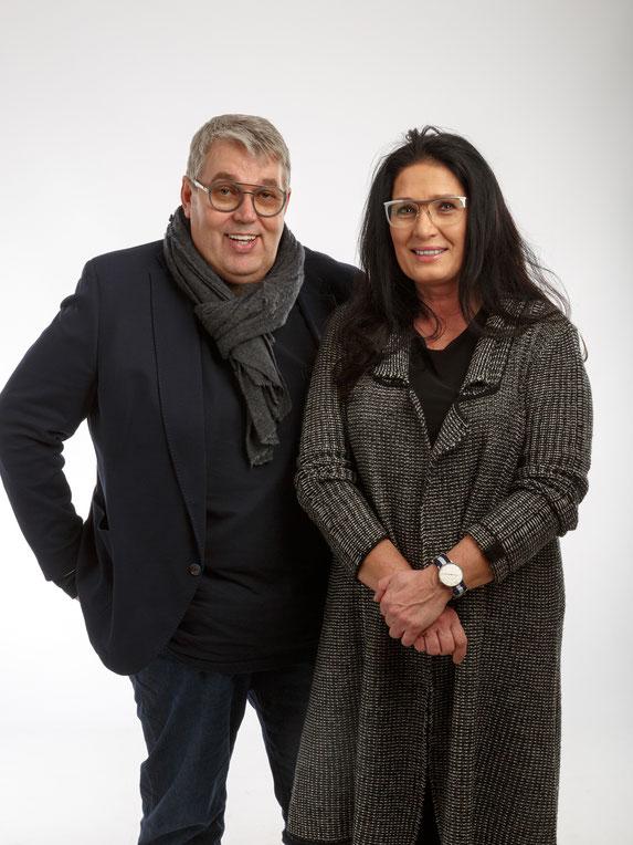 Reinhard Haselsteiner mit seiner Frau Anita