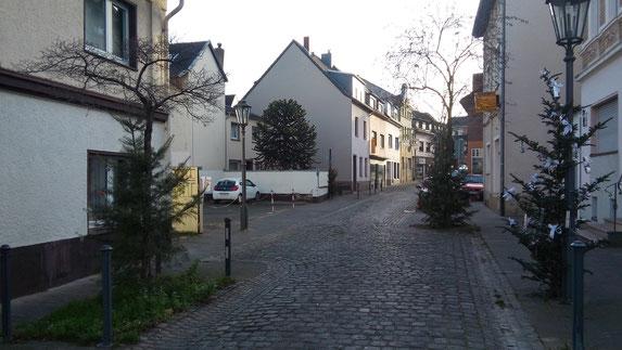 "Der ""untere Abschnitt"" der Lengsdorfer Hauptstraße"