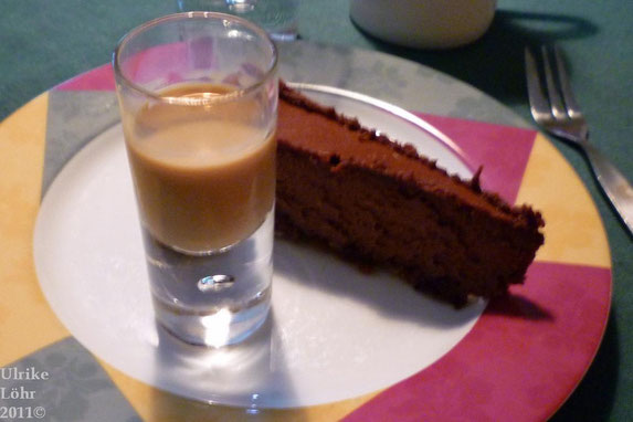 Schokoladen-Haselnuss-Amarula-Cheesecake