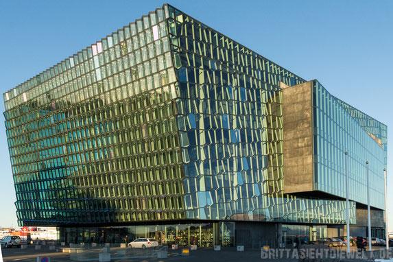 Harpa,Konzerthaus,island,winter,reykjavik,reisetipps,tipps,februar,zwei,wochen,hafen,meer