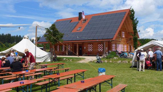 Das Wieslefest fand 2014 zum ersten Mal auf dem neuen Jugendzeltplatz Villingen-Schwenningen statt. Bild Pleithner