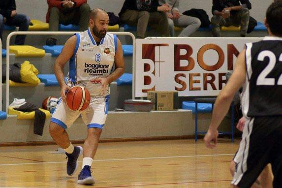 Capitan Luca Randazzo in azione contro Bussoleno - Guido Fissolo ph
