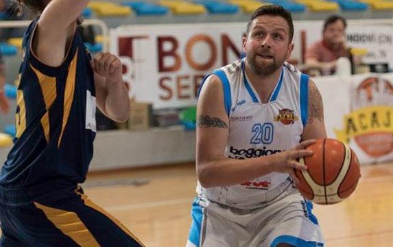 Elio Gastaldi in azione. Per lui season high con 10 punti a referto - Roberta Cravero ph.