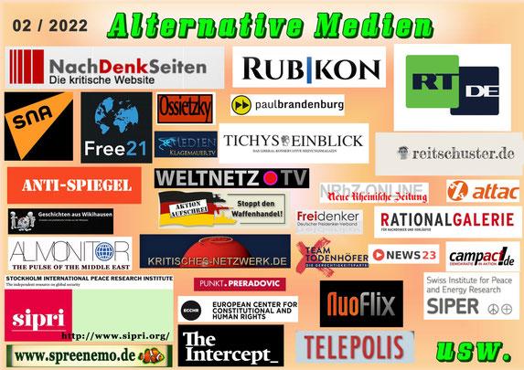 Presseblick Nicht-Main-Stream-Medien