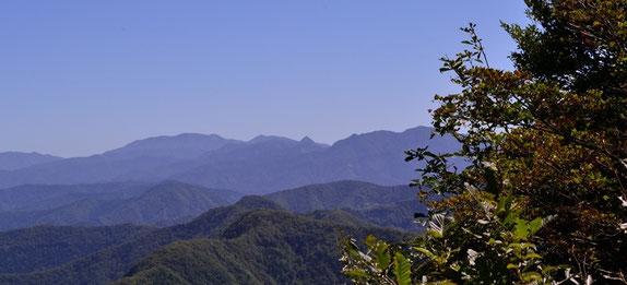 冠山(現在林道は通行止めらしい)