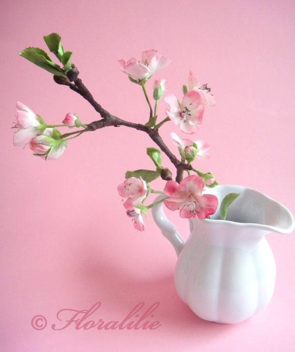 Kirschblüten aus Zucker von Floralilie
