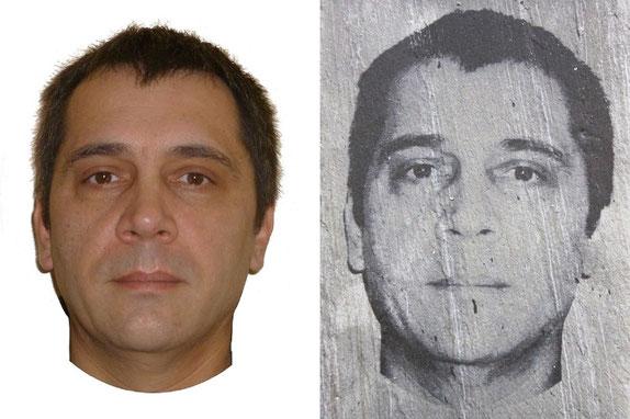 Gravure laser d'un portrait à partir d'une photo sur ardoise naturelle