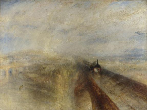 《雨、蒸気、スピード》1847年