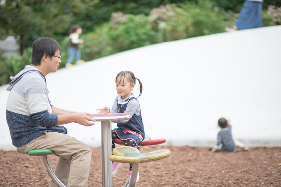 豊島区 南池袋公園 出張撮影 家族写真 女性カメラマン