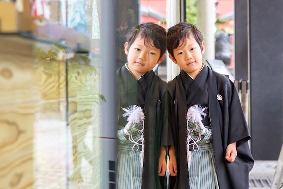 神田明神 七五三 5歳 出張撮影 女性カメラマン 家族写真