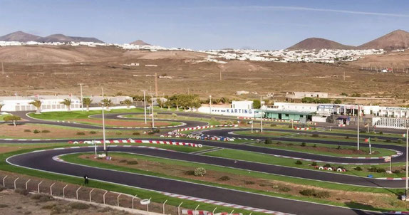 Gran kartring playa del Carmen en Lanzarote