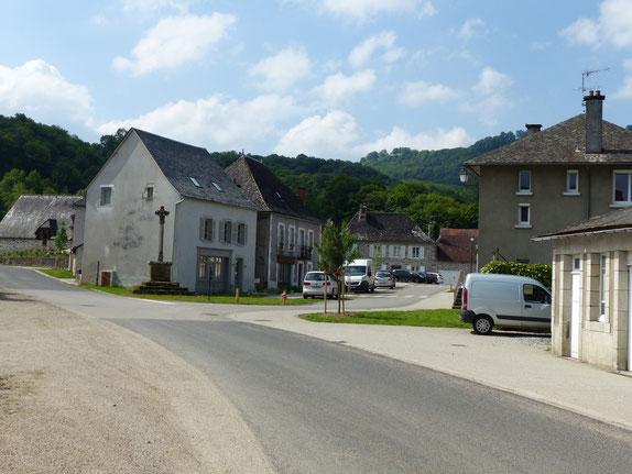 Le Bourg, de la rue Saint-Louis