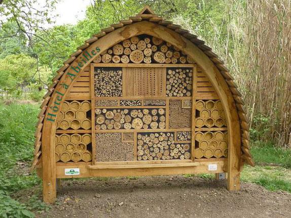 C'est comme ça que nous pouvons aider  les insectes et les abeilles solitaires en particulier