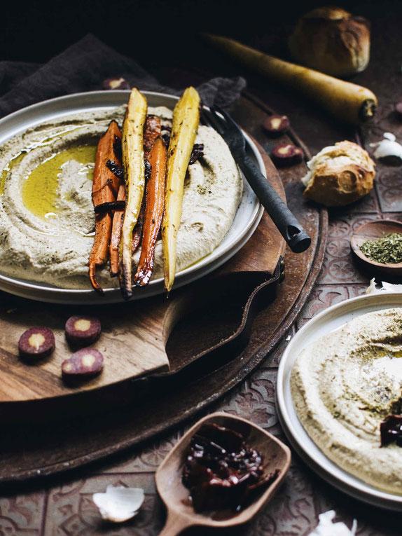 Hummus & Ofenmöhren